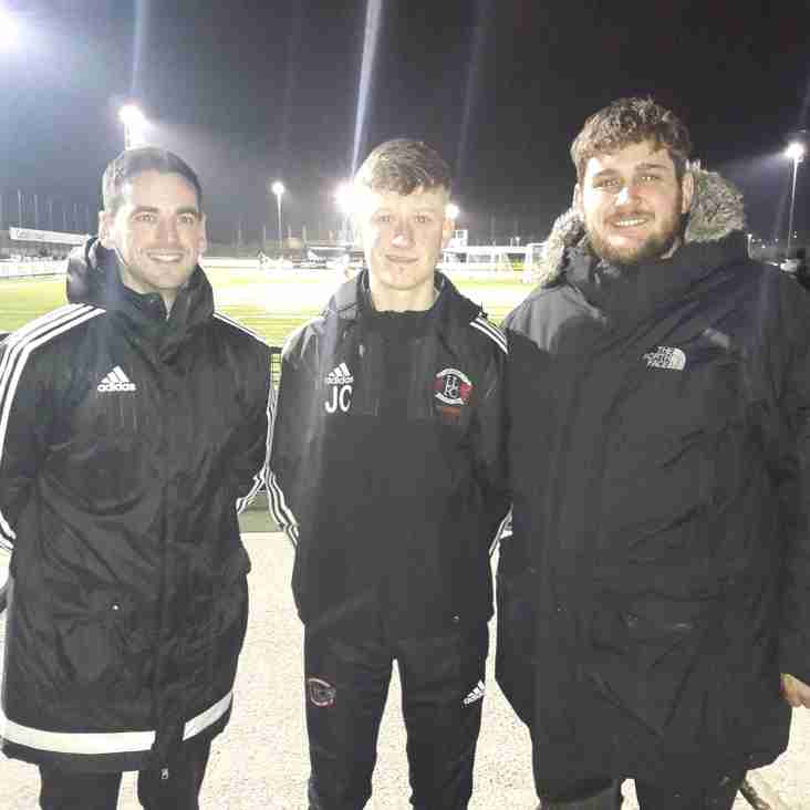 Rising Local Star Signed From Neighbours Llandudno Albion