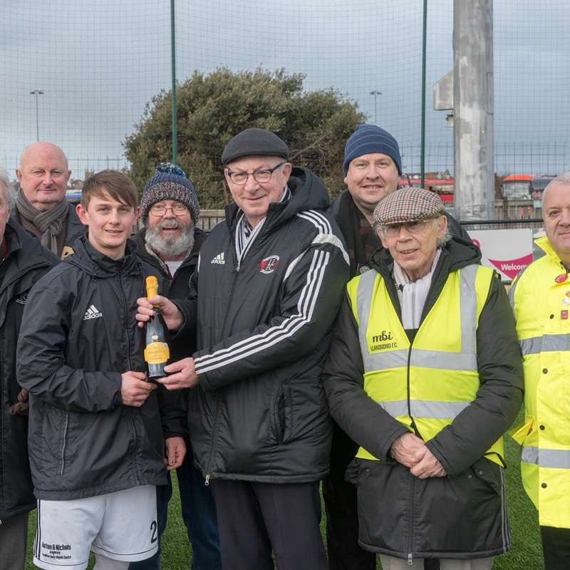 January Player Of The Month Award