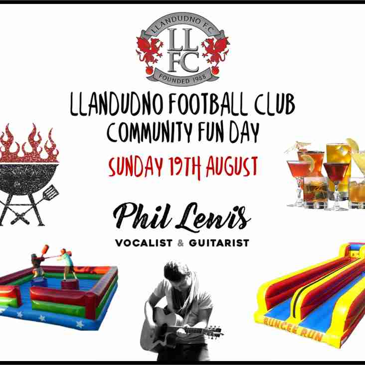 Llandudno Football Club Community Fun Day