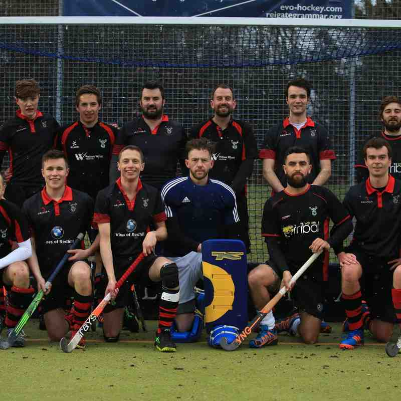 Mens 2XI Match - 17th March 2018