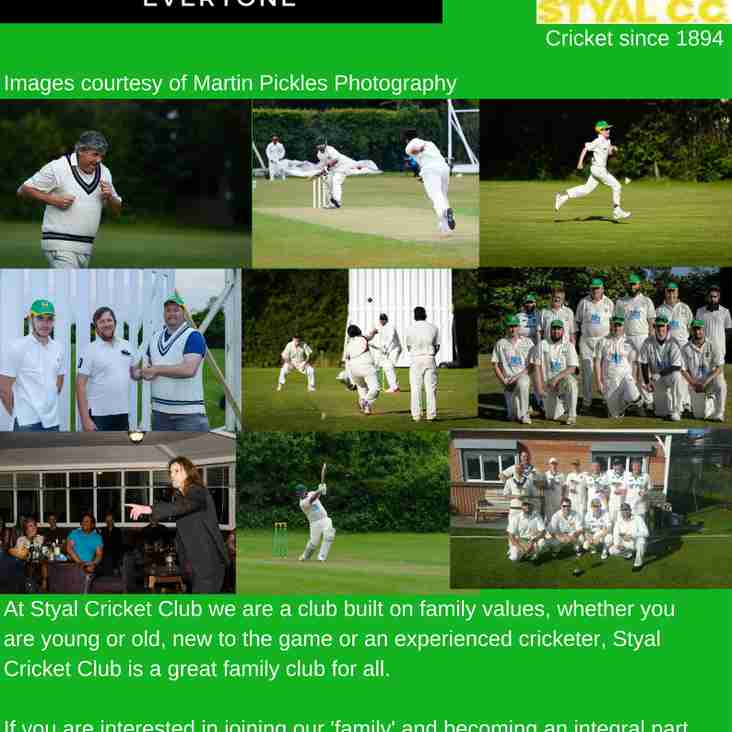 Styal Cricket Club - A Family Club For Everyone