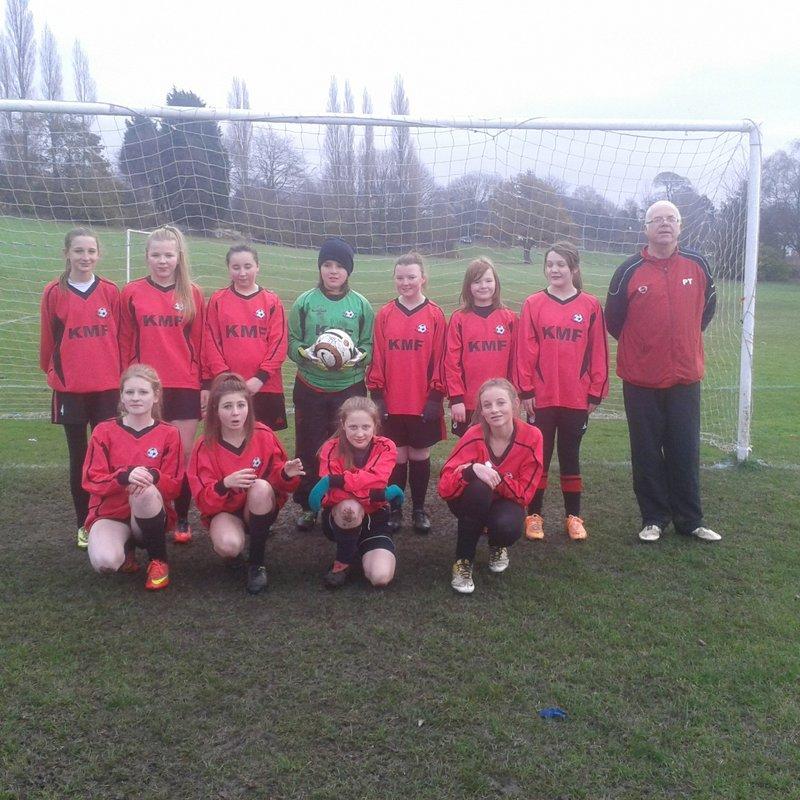 Bradwell Belles U16s lose to Stoke Town 9 - 0