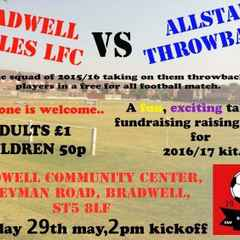 Fundraising match for the Ladies