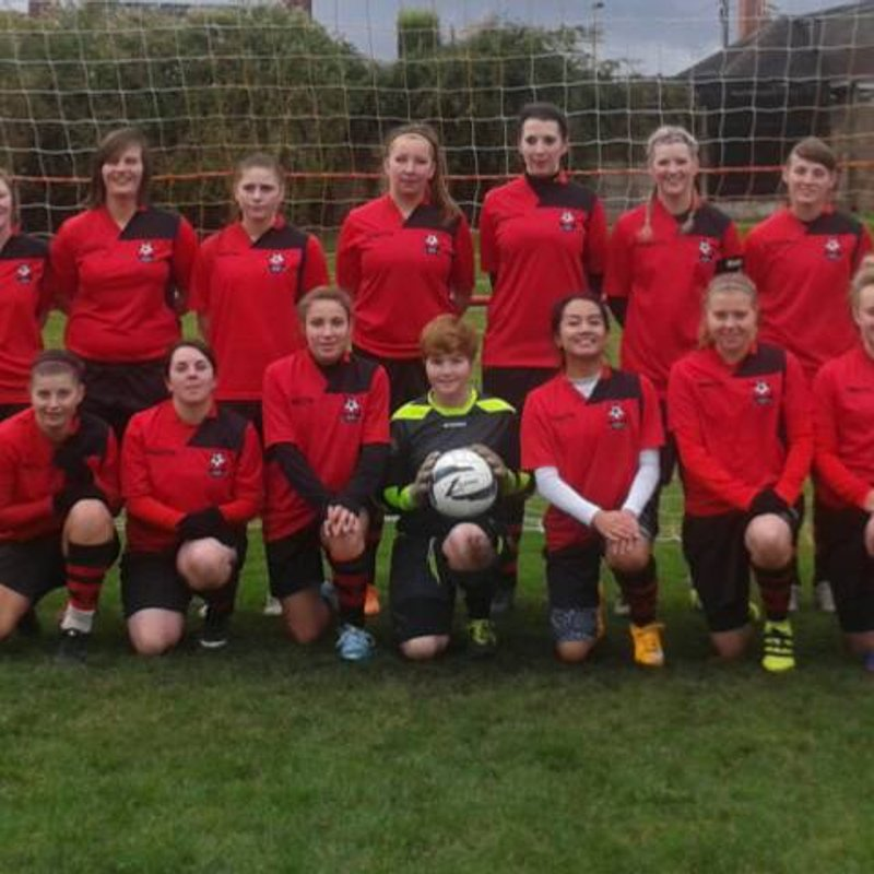Bradwell Belles LFC lose to Norton Utd LFC 5 - 3