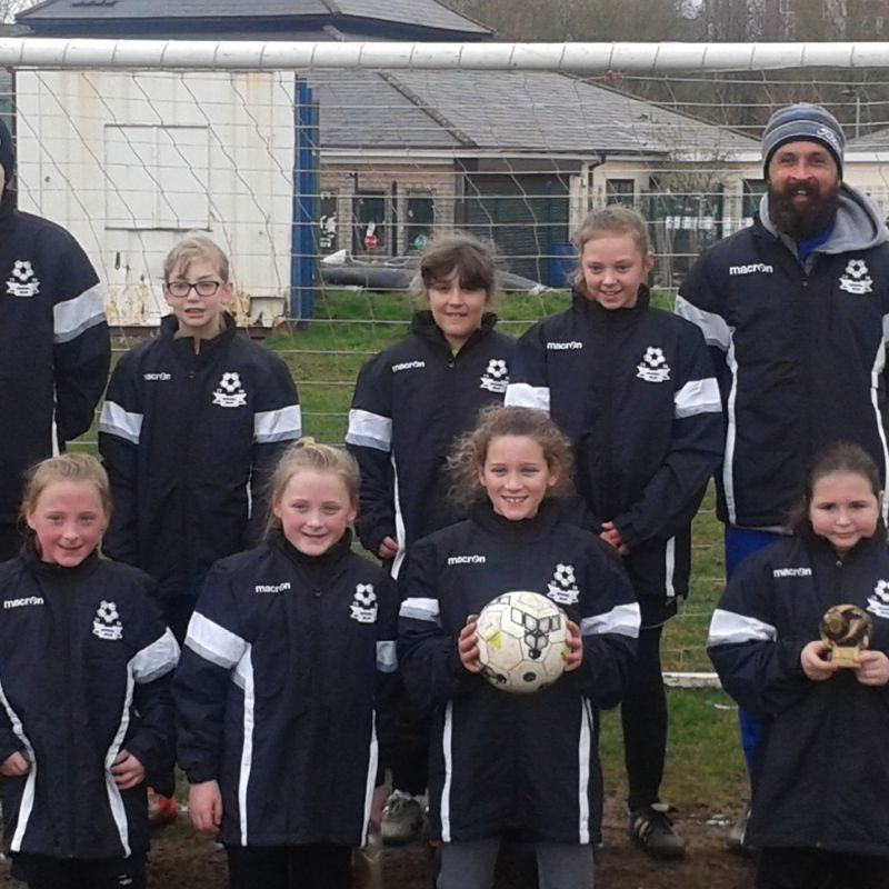 Bradwell Belles U12s lose to Stafford Town 3 - 0