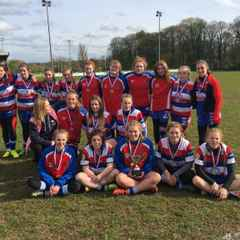 Cas RUFC U15 Girls win Yorkshire Cup