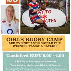 Girls Rugby Camp 26 July 2016