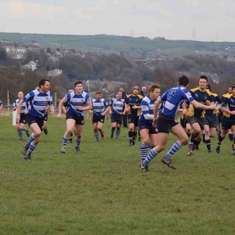 Vandals 2nd XV vs. Old Crocs 2nd XV - Saturday, 9th April 2016 (H)