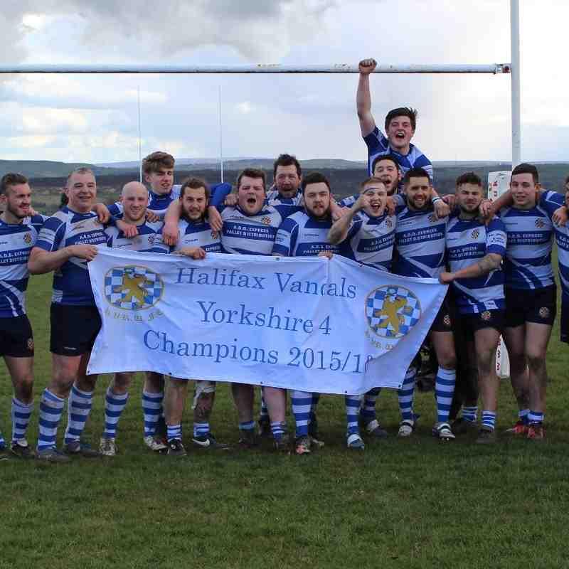 Yorkshire 4 Champions 2015-16