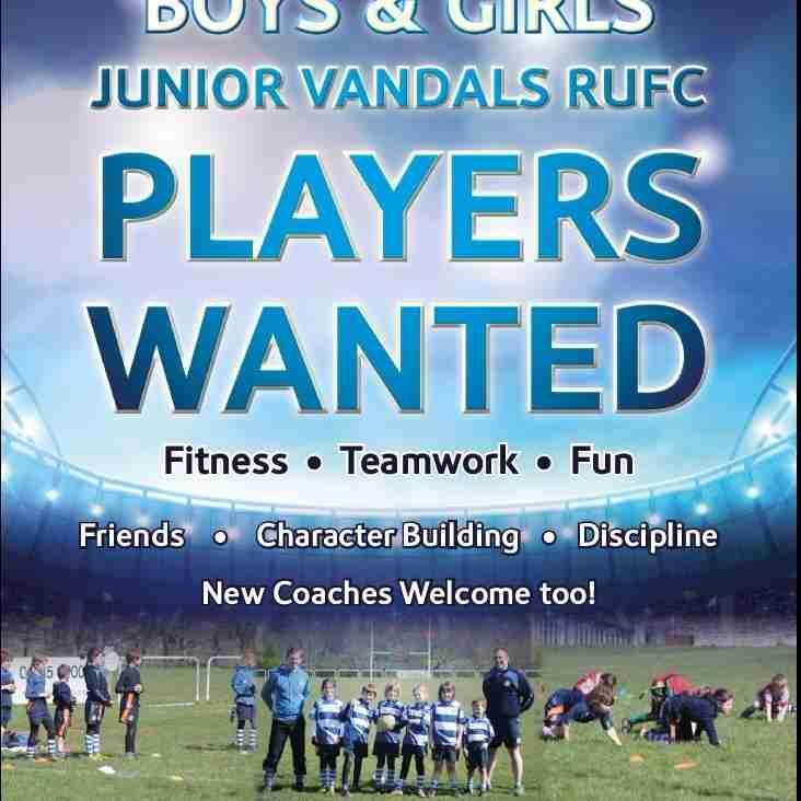 Vandals Juniors Recruiting