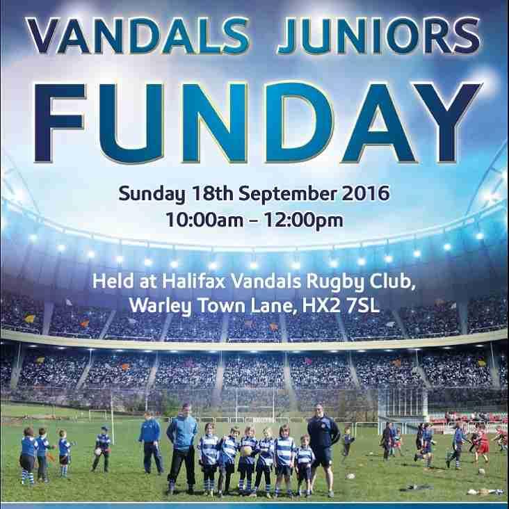 Vandals Juniors FUN DAY