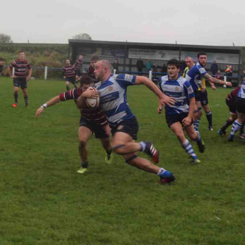 Vandals 1st vs. Aireborough (H) Saturday, 29th October 2016
