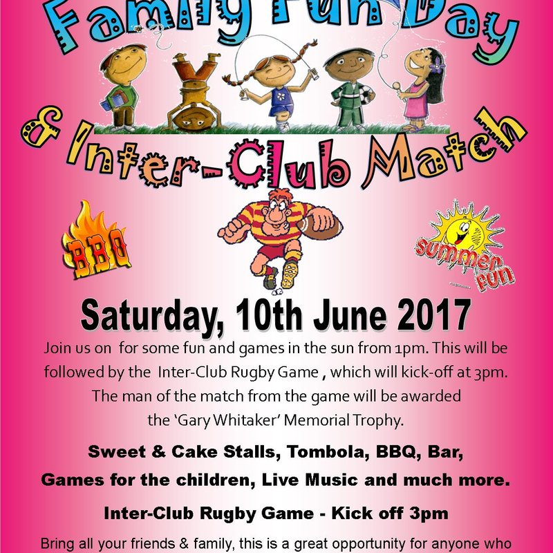 Family Fun Day & Inter-Club Game