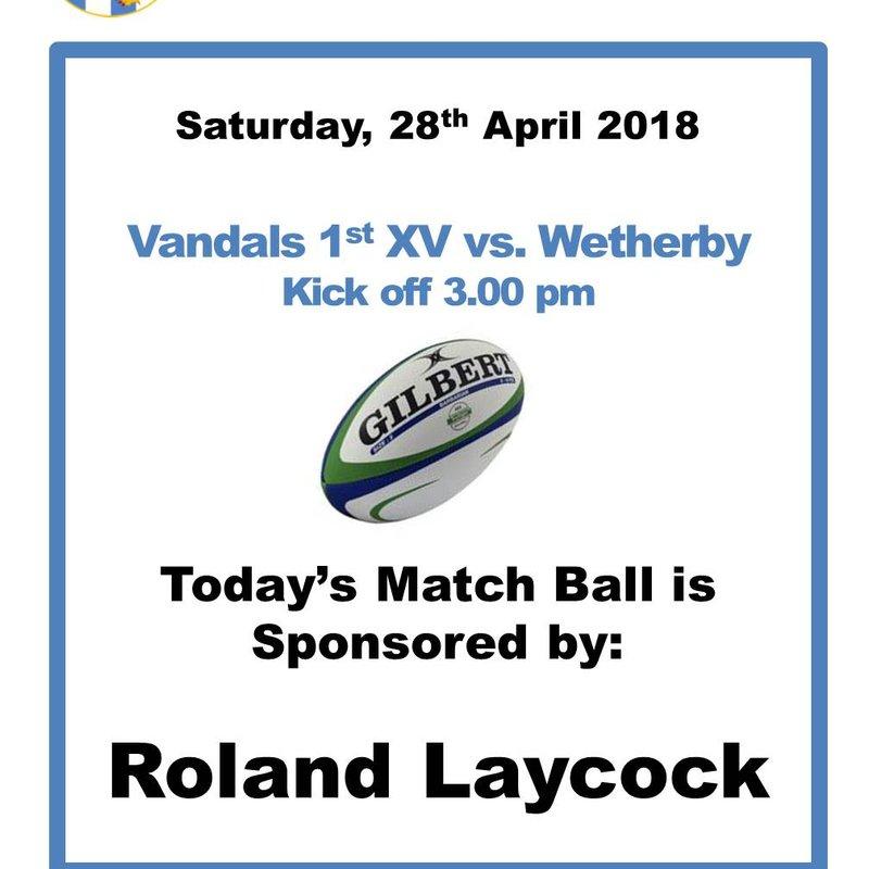 Saturday, 28th April 2018
