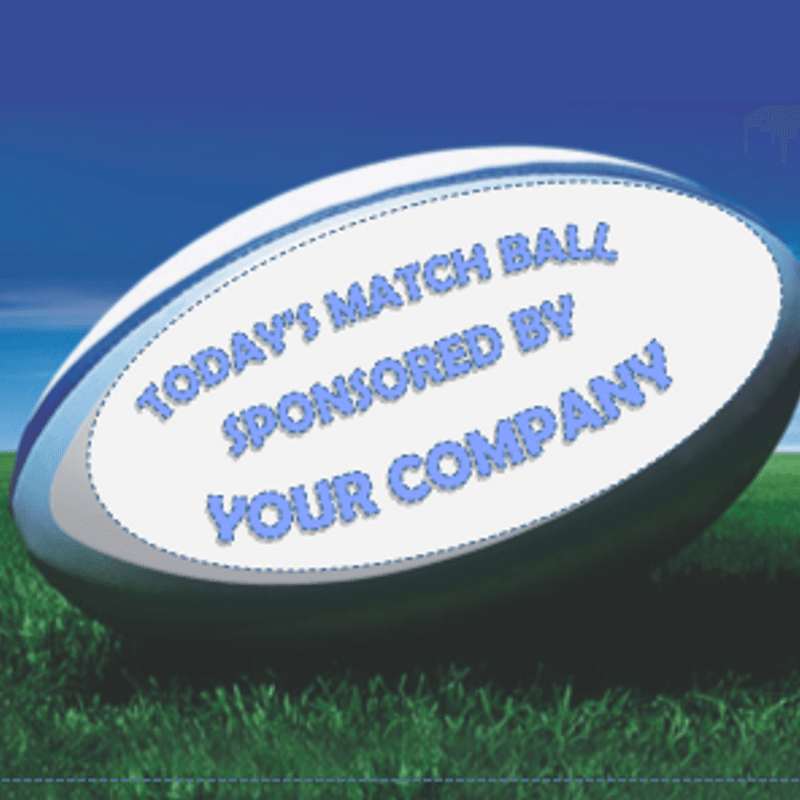 MATCH BALL SPONSOR - SATURDAY, 1ST SEPTEMBER 2018