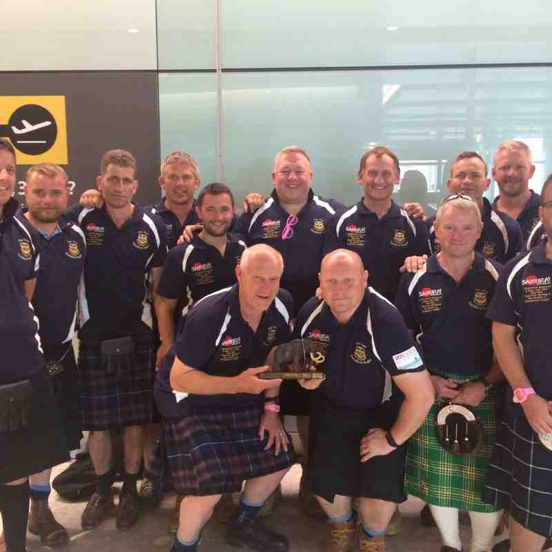 GRFC Vets Buttercup & Beer Tour 2015 - WINNERS Of Mackie MAMMOTHS Buttercup Trophy