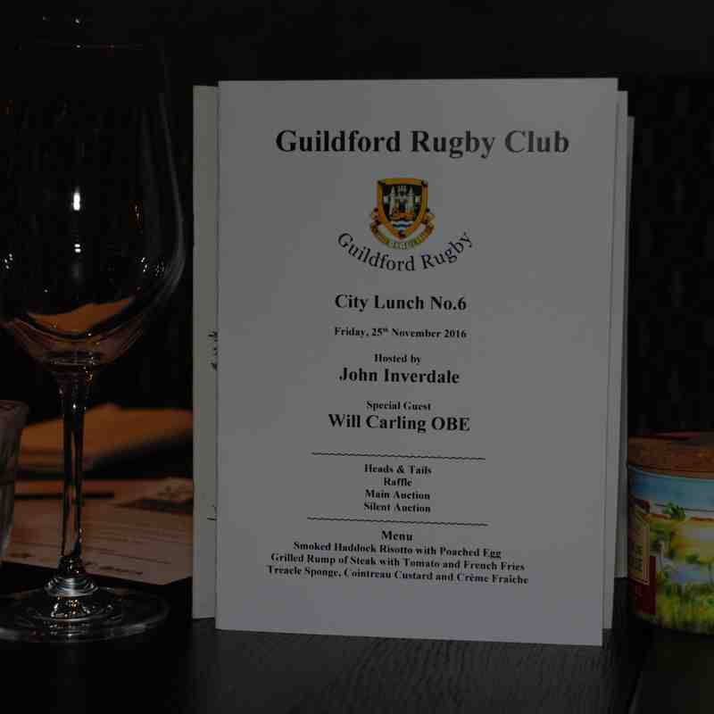 GRFC CITY LUNCH NO.6 with WILL CARLING & JOHN INVERDALE_PT.1 (Reception & Cocktail Looseners)