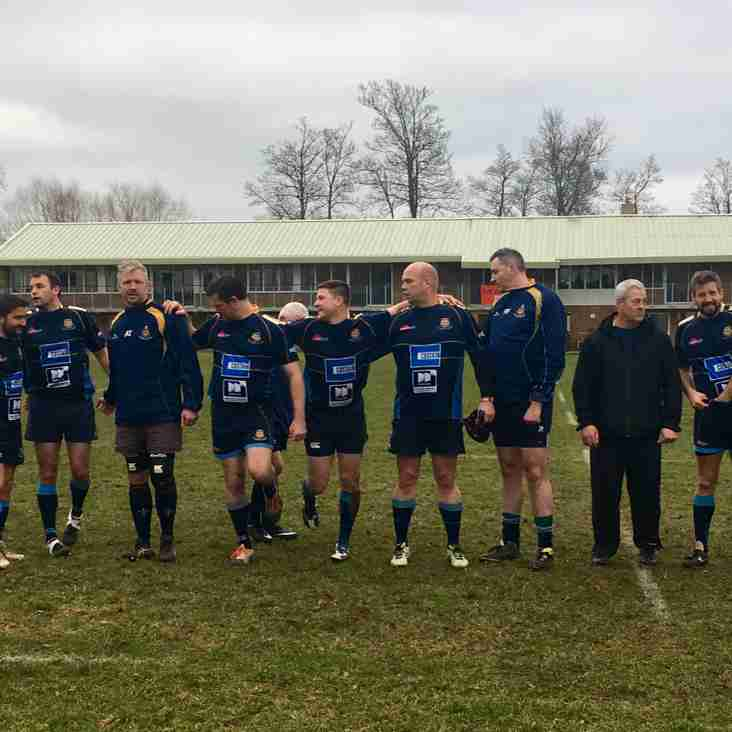 Match Report - Guildford Vets 20, Camberley Gin & Tonics (Vets) 12