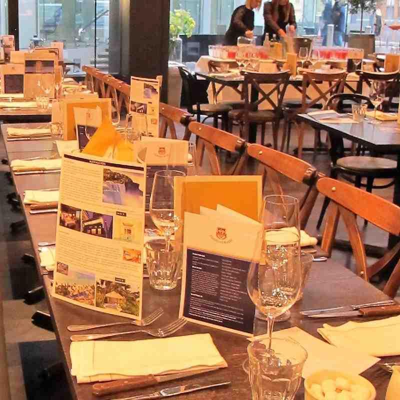 GRFC City Lunch No.9 with David Flatman & John Inverdale_Pt.1 Reception & Cocktail Looseners