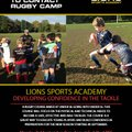 U9s Transition to Contact Rugby Camp with Lions Sports Academy