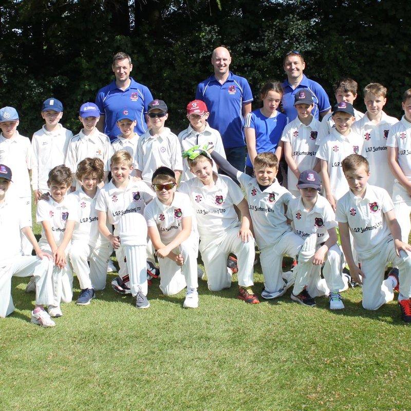Knowle CC U11B vs. Bristol Cricket Club