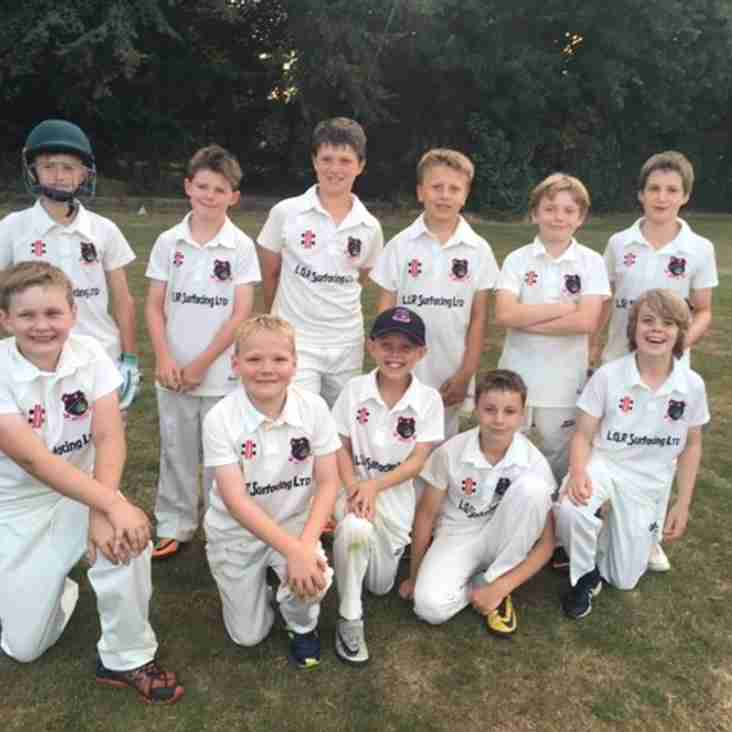 Bristol CC U10's return to winning ways !