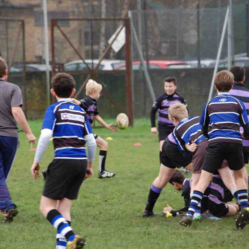 Clifton U12s v Bath 2016