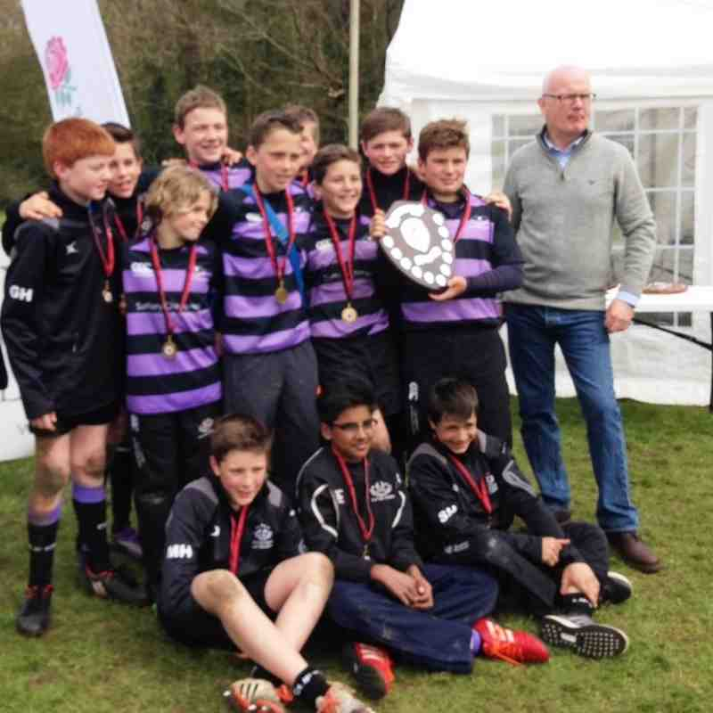 U12s Cirencester 7s Winners