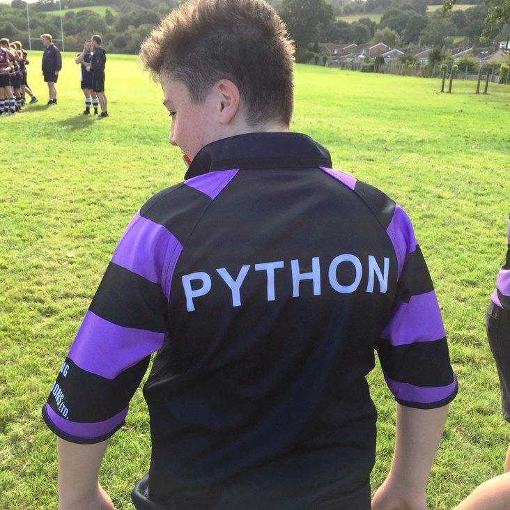 Monty Python comes to Clifton U13s<