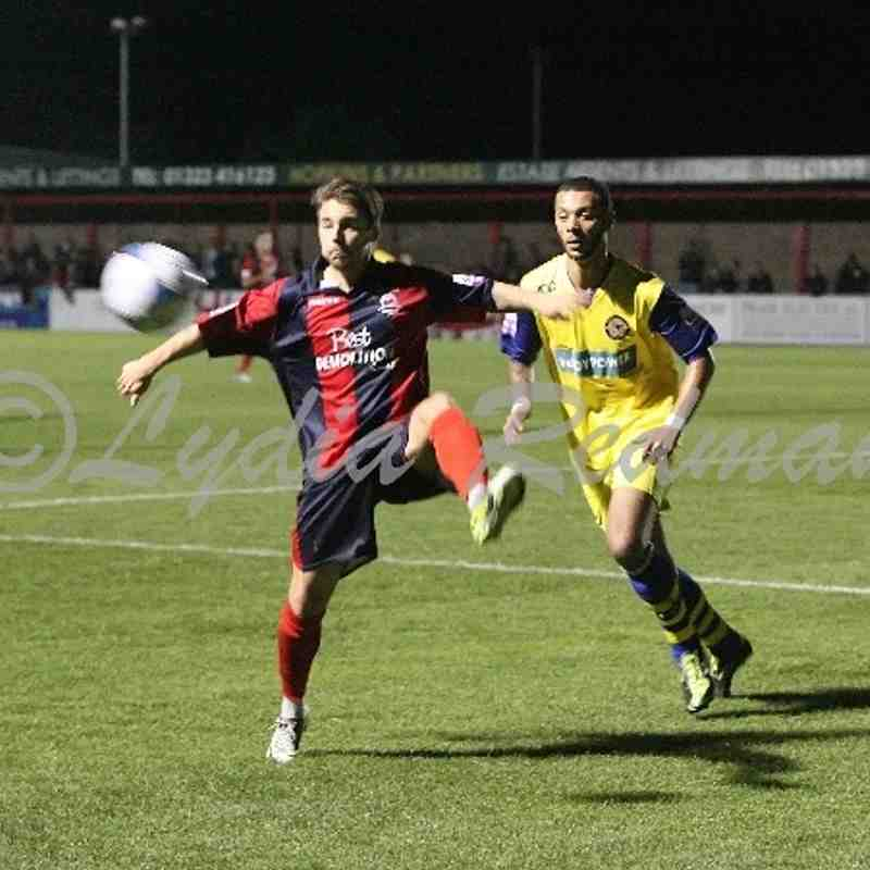 Eastbourne Borough FC (5) VS Farnborough FC (2) 8/10/2013