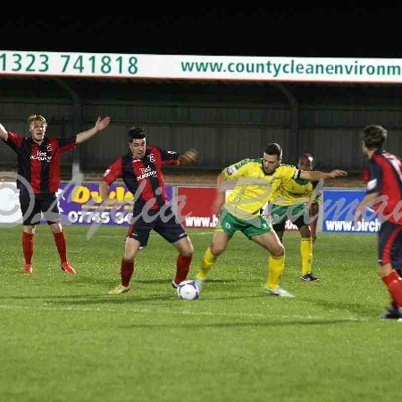 Eastbourne Borough FC (0) VS Dover Athletic FC (4) 22/10/2013