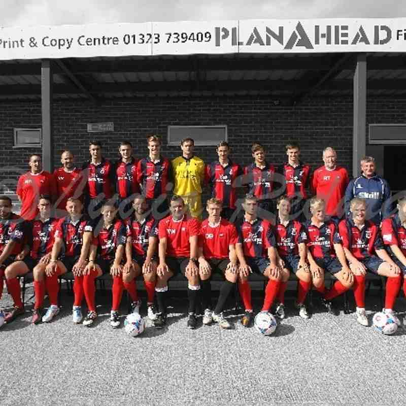 Eastbourne Borough FC Team Photos 2013-2014