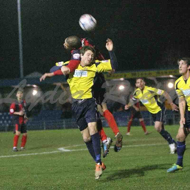 Eastbourne Borough FC(2) VS Gosport Borough FC(1) 25/02/2014