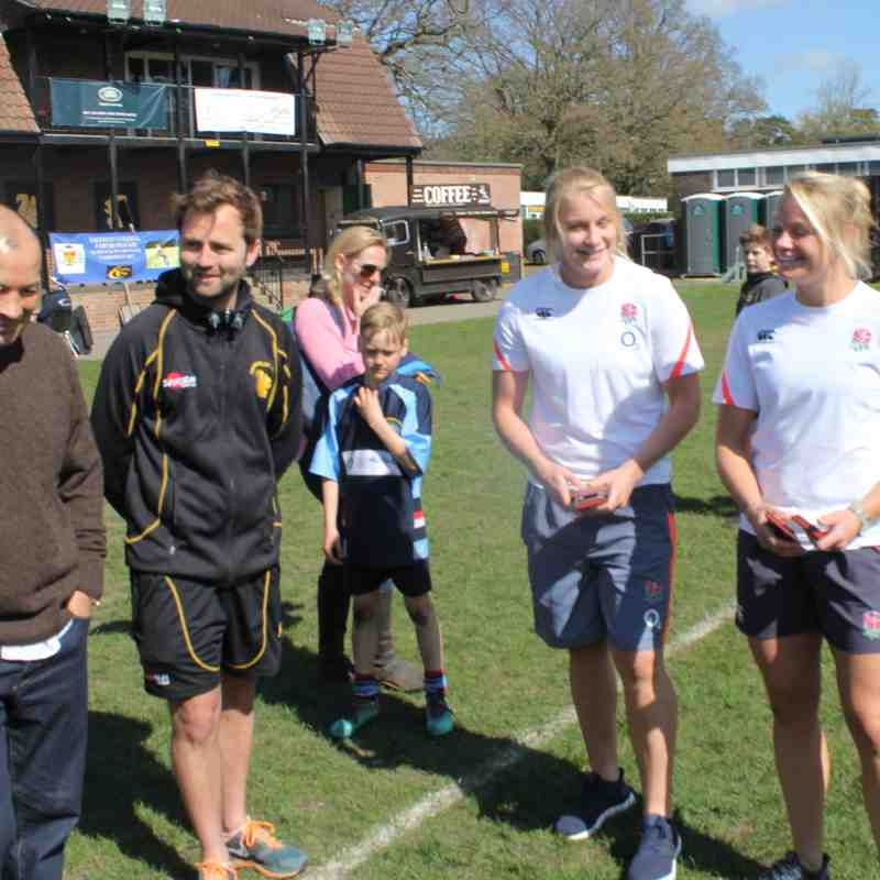 CRFC Festival with Eddie Jones