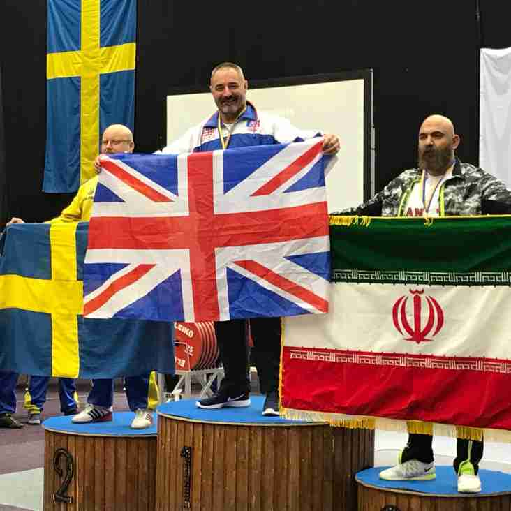 Russ Lifts Another Gold at the World Championships