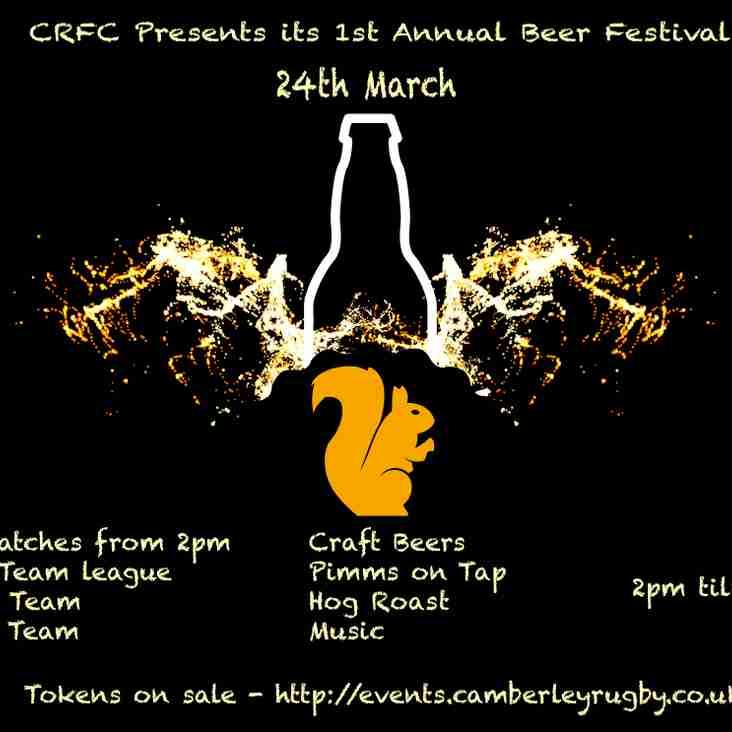 Camberley RFC Beer Festival