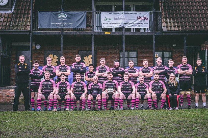 Camberley Rugby Football Club vs. Southampton Univ Medics