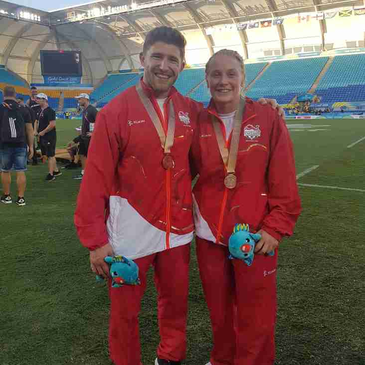 Bronze for Phil and Alex on the Gold Coast