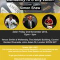 CRFC City Lunch with Simon Shaw