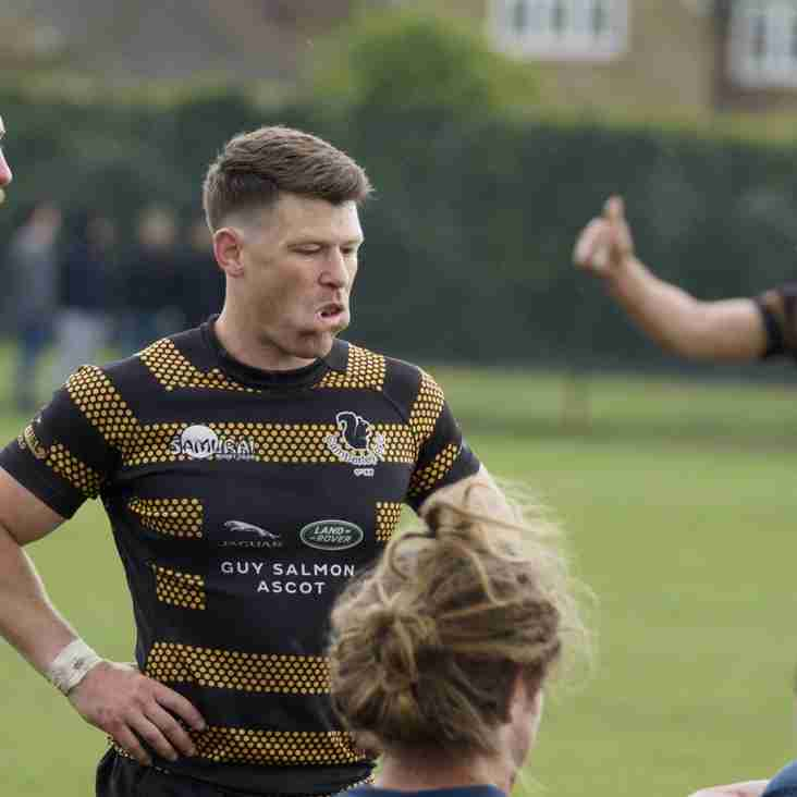 Camberley's Tom Chennell in Army Squad at Twickenham