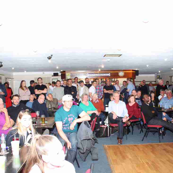 Presentation Evening - Further Details and pictures