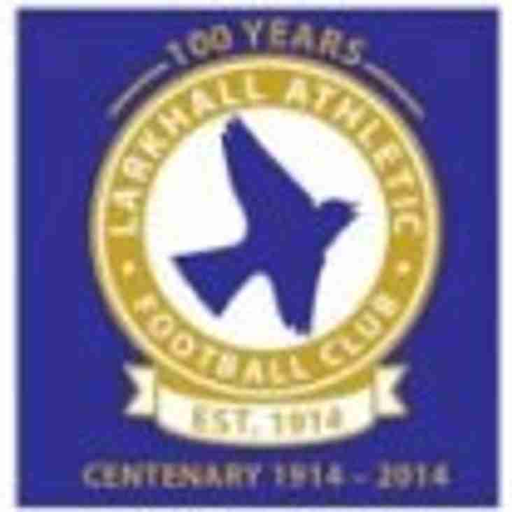 Yate vs Larkhall Athletic  -  Re-Arranged date