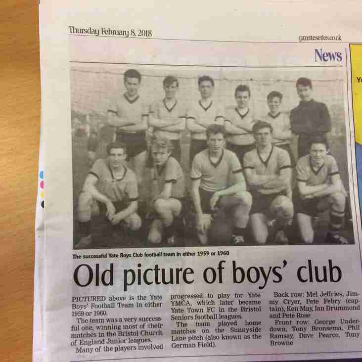 Old Picture of Boys' club