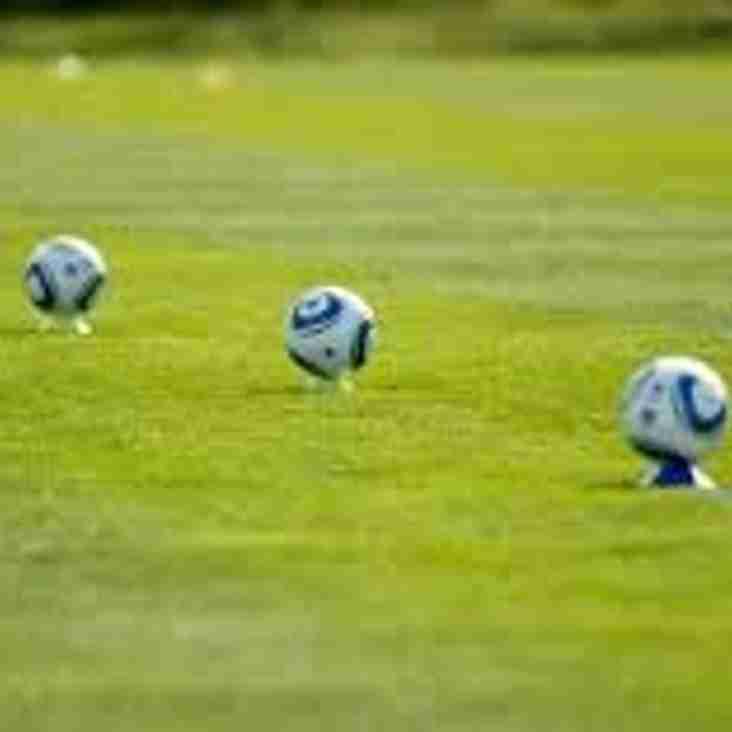 Saturday Training commences Sat 19th August