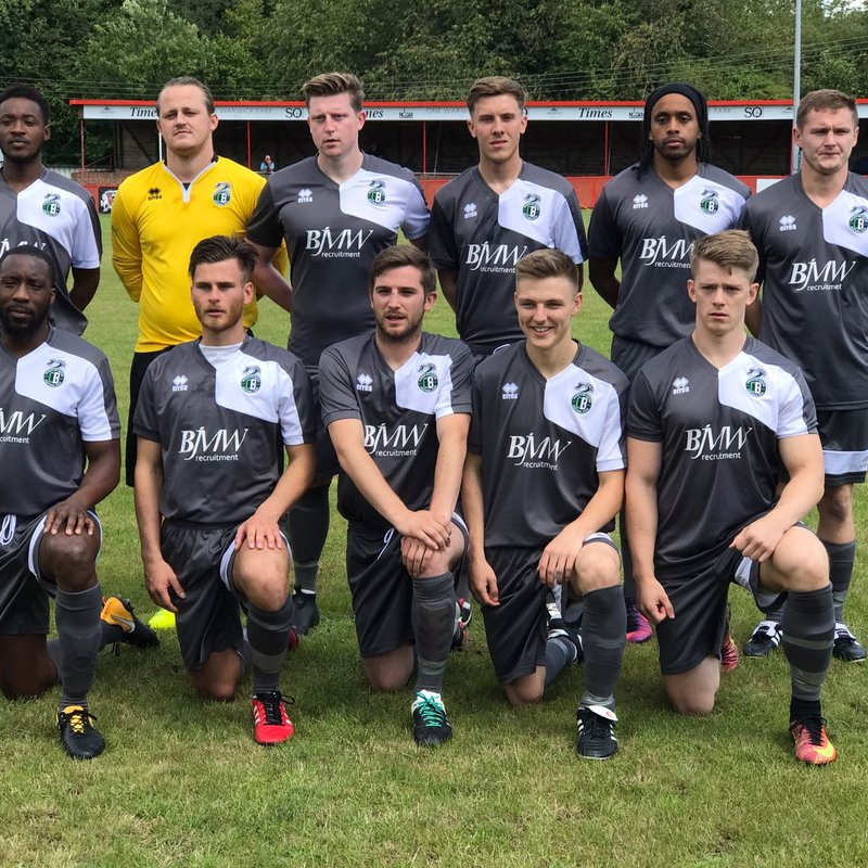 CB Hounslow United FC (1st Team) lose to Spelthorne Sports 0 - 2