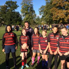 Girls rugby at teddington