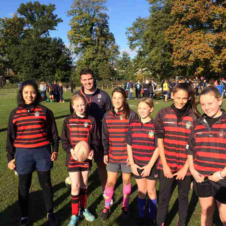 Girls rugby.