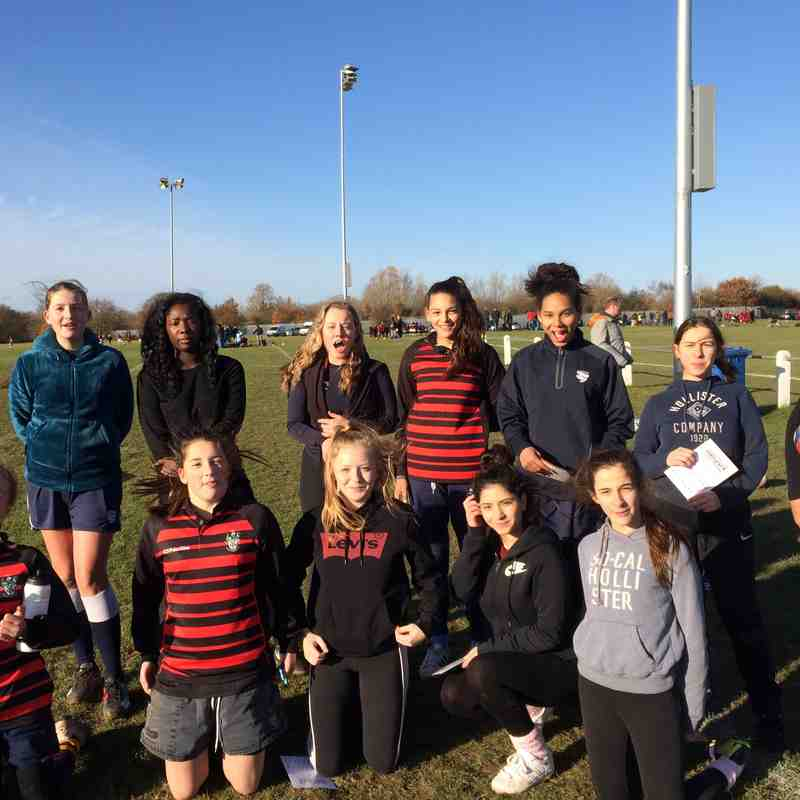 Girls rugby at teddington