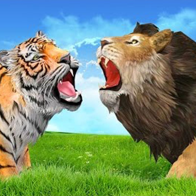 !WARNING! Lions and Tigers spotted in Tewkesbury