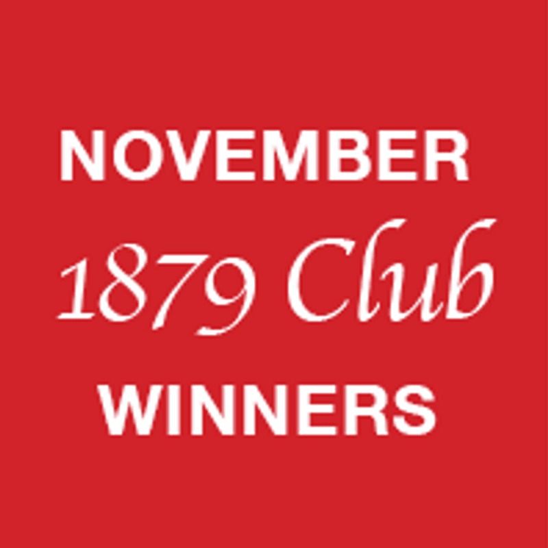 November 1879 Club winners